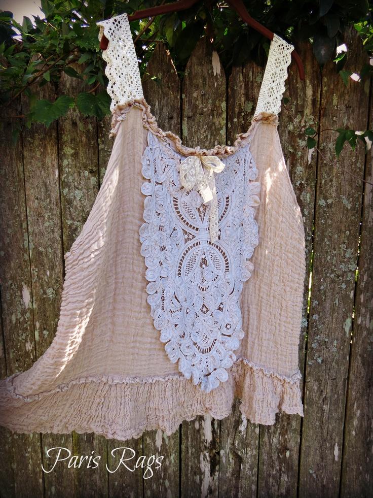 Gauzy Vintage Lace Romance