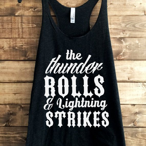 FREE SHIPPING Thunder Rolls Country by LineLiamBoutique on Etsy