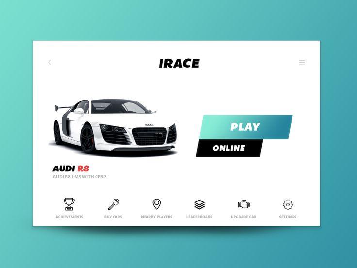 Day 060 - IRACE Audi Game UI