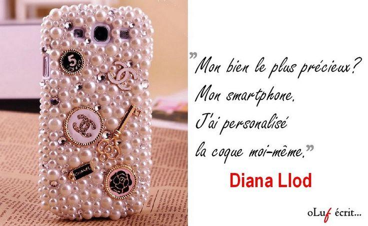 Mon bien le plus précieux ? Mon smartphone. Je ne pourrais vivre sans lui. Interview partie 3 de #dianallod, personnage de #poupee de #olufemi