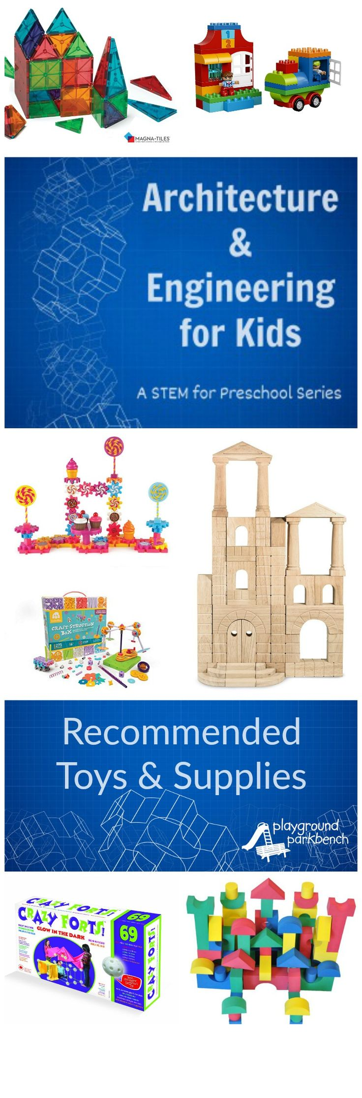 Architectural and Engineering Toys for Kids
