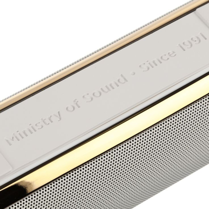 """Audio S Plus"" Bluetooth Speaker MINISTRY OF SOUND - colette MINISTRY OF SOUND - colette.fr"