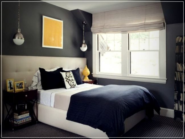 Youth Bedroom Decorating Ideas And Photos Teenroomdecorating Teenroomtrends Bluebedroomdecorforboys Blue Bedroom Walls Mens Bedroom Blue Bedroom Decor