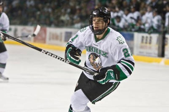 UND's Matt Frattin 2011  Named the Western College Hockey Association's player of the year he has also been named to First All-Star Team and is one of the ten Hobey Baker Award finalists.
