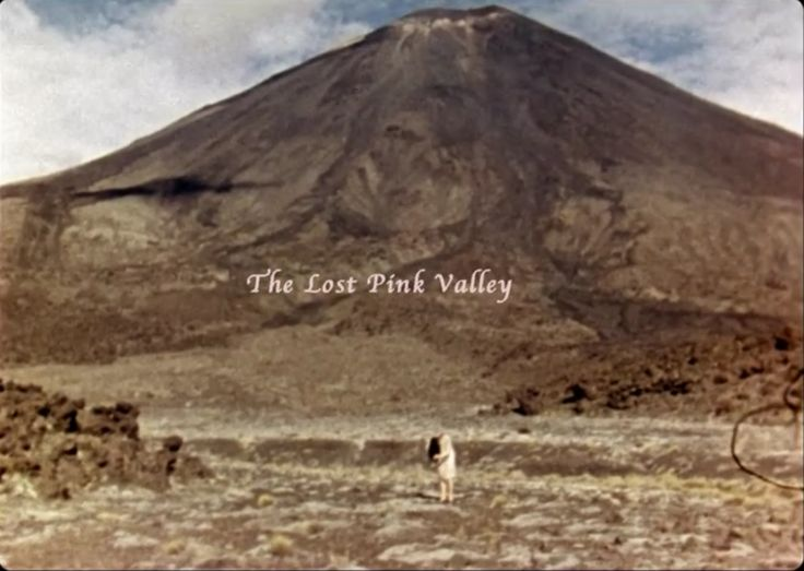 The lost pink valley...