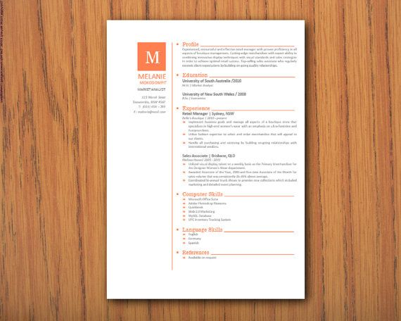 15 best Portfolios and Resumes images on Pinterest Design resume - resume 2 pages