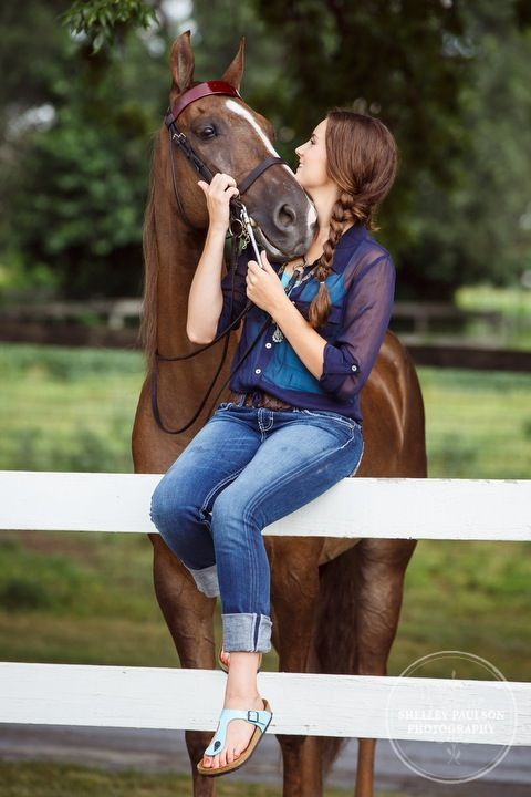 My horse is true friend forever
