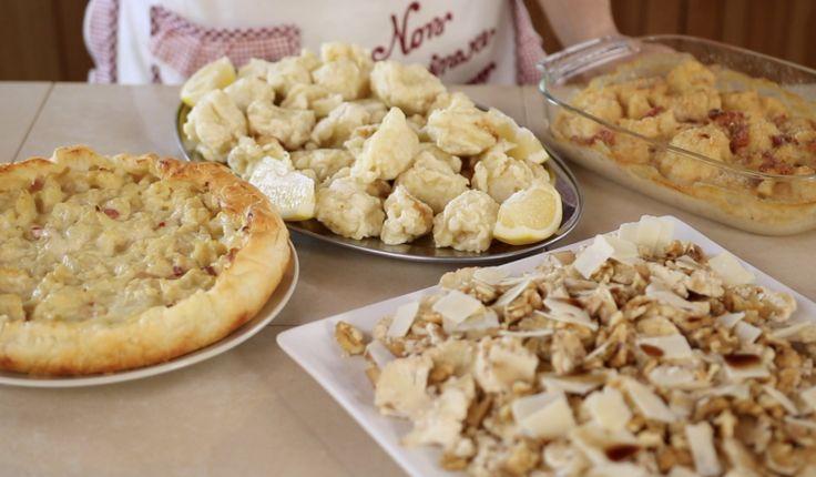 3 idee con il cavolfiore: cavolfiore gratinato in padella, cavolfiore crudo in carpaccio, cavolfiore fritto in pastella. Ricette facili...