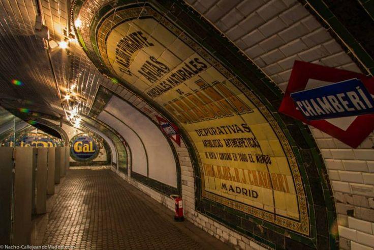 Chamberí, la estación fantasma www.vitium.es