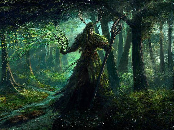 Gli Arcani Supremi (Vox clamantis in deserto - Gothian): Cernunnos, il dio celtico dei boschi
