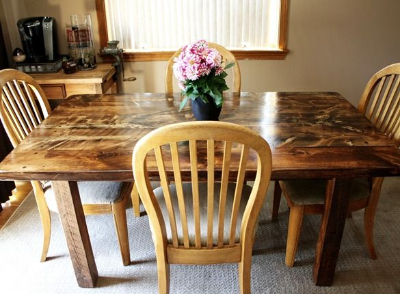 I have wanted a reclaimed wood table for so long  instructional on how to  build. Best 25  Barn wood tables ideas on Pinterest   Wood tables