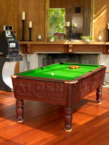 7ft Burlington English Pool Table - A strong build, sophisticated style and superb game-play all help cement the Burlington's status as a premier English pool table. It has been fully league approved by the British Association of Pool Table Operators and European United Kingdom Pool Federation, and is often used in BAPTO tournaments, EUKPF World Championships and European Championships.