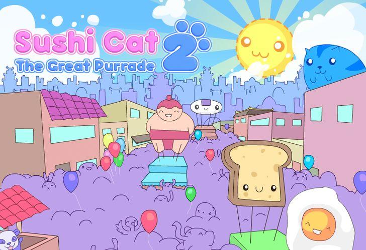 Sushi Cat Game Friv