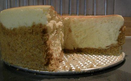 """""""Best cheesecake I have ever made. Hands down."""" maybe i'll try this for Christmas"""