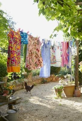 Plans for Building a Clothesline