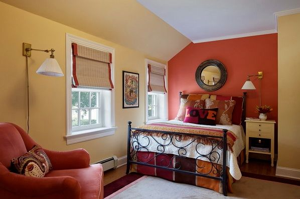 Orange And Maroon Master Bedroom Color Ideas Decolover Net