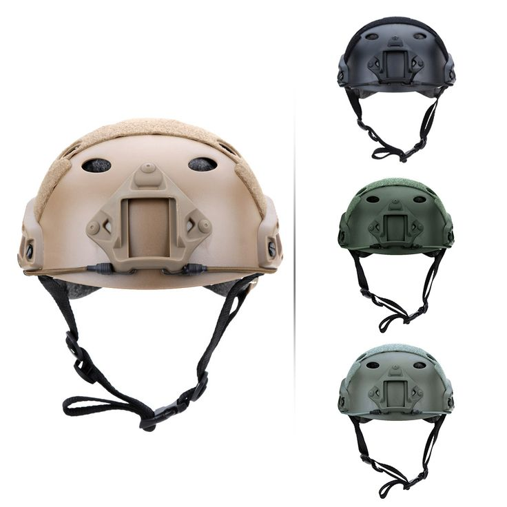 Al aire libre Casco Militar Casco Protector Base Jump Casco Táctico CS Airsoft Paintball Al Aire Libre 4 Colores