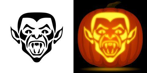 Best 25 vampire pumpkin ideas on pinterest frankenstein for Vampire teeth pumpkin stencils
