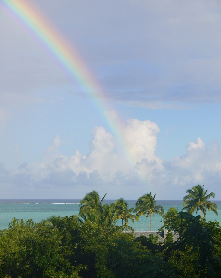 Rainbow over Turk & Caicos