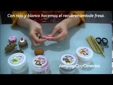 Tutorial Pasteleria Bakery (2/4) Jumping Clay