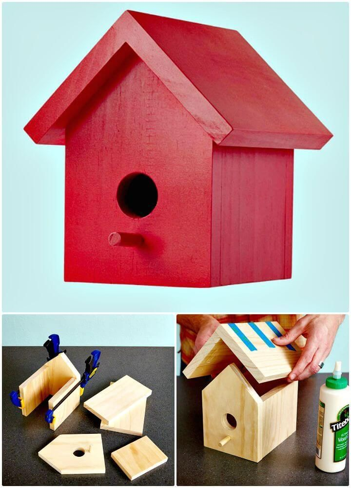 How To Build A Birdhouse 55 Easy Diy Birdhouse Ideas Fabriquer Mangeoire Oiseaux Mangeoire Oiseau Cabane Oiseaux