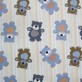 Especial Ursinhos Carinhosos - Listras (0,50 cm x 1,50 m) catex