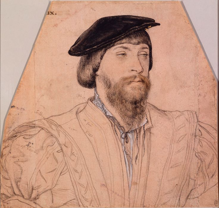 Thomas, 2nd Baron Vaux (1509-1556) ~ ca1533, Hans Holbein the Younger
