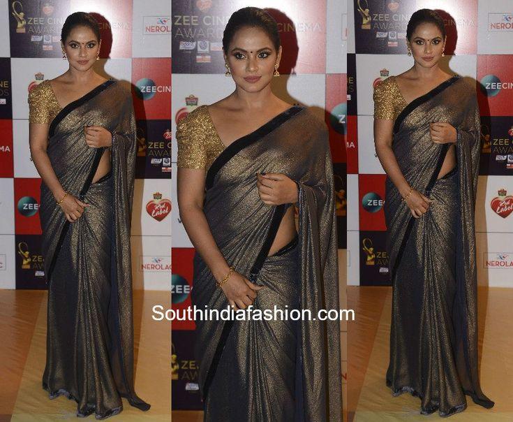Neetu Chandra's Saree Look