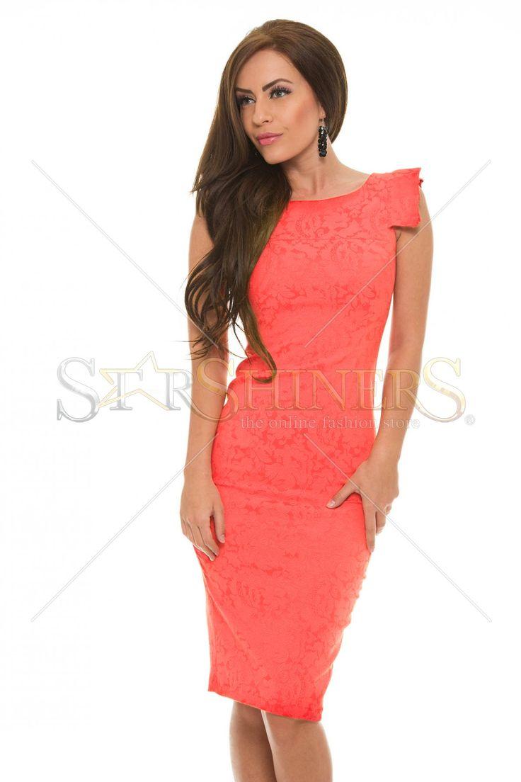 StarShinerS Perceive Coral Dress