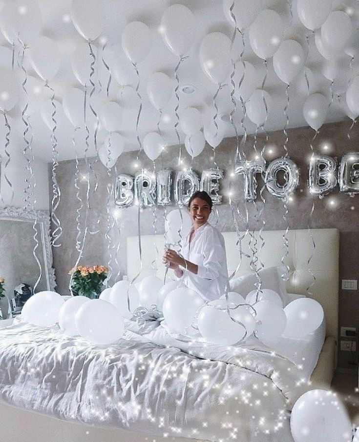 Such a cute way to decorate for the big day! Come on girls, we can do this!