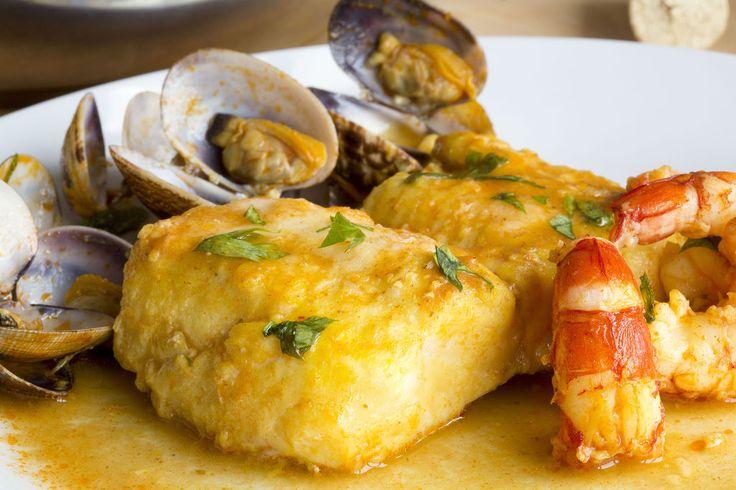 Merluza a la sidra asturiana esp a en la cocina for Asturias cuisine
