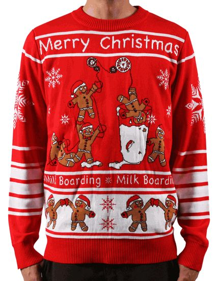 LA Police Gear Gingerbread Men Christmas Sweater