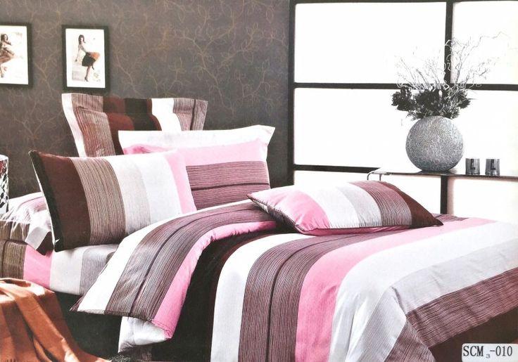 Cotton colourful stripe  bedsheet