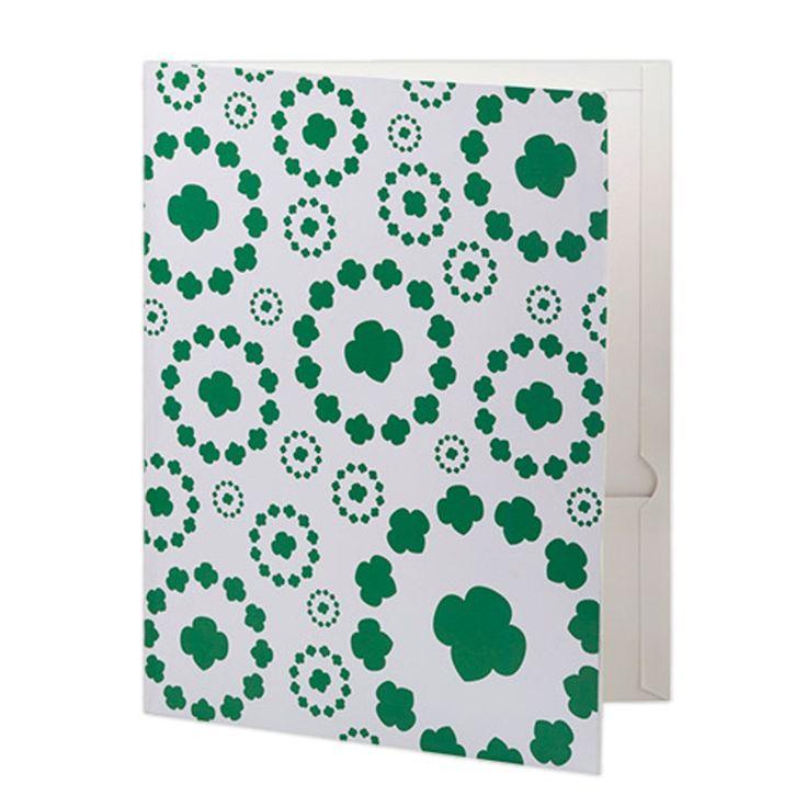 Trefoil Design 2 Pocket Folder