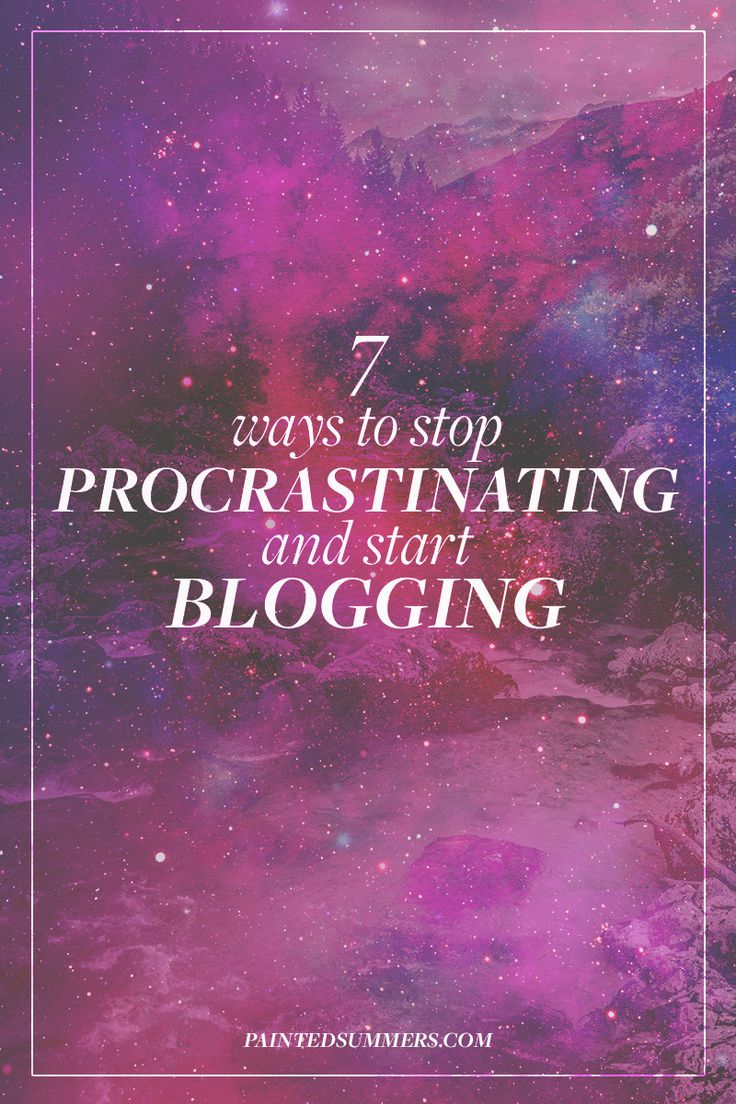 I love the irony of how I procrastinated writing this post. As much as I enjoy blogging, there is one thing I will always dread. Starting to write. Here are 7 ways to stop procrastinating and start blogging!