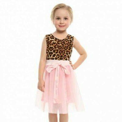 New Kids Girl O Neck SleevelessMulti Ruffled P | pinknee.com