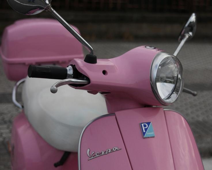 162/365 Vespa rosa | Proyecto 365 | 365 fotos en 365 días