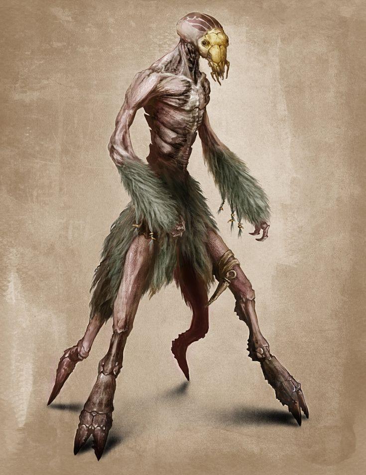 'Dark Earth' Humanoid Creature by SBWomack.deviantart.com ...