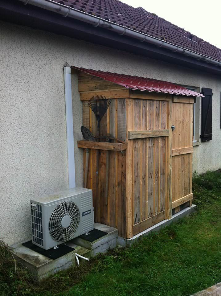 Garden Shed Made From Pallets : Images about garden ideas projects on pinterest