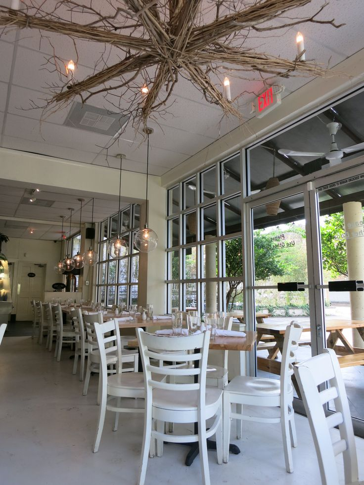 Bright And White Cafe