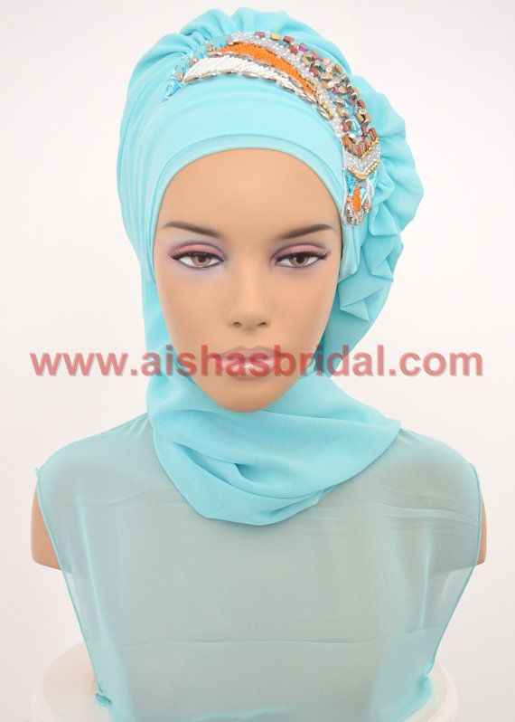 Ready To Wear Hijab  Code: HT-0241  Hijab Muslim by HAZIRTURBAN