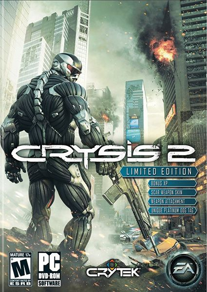 Crysis 2 Video Game for PC / PS3 / Xbox 360