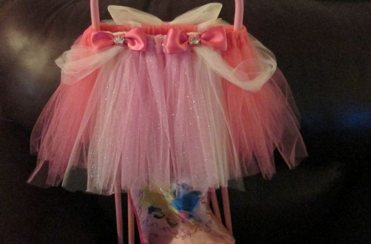 Sleeping Beauty Inspired tutu (Front)