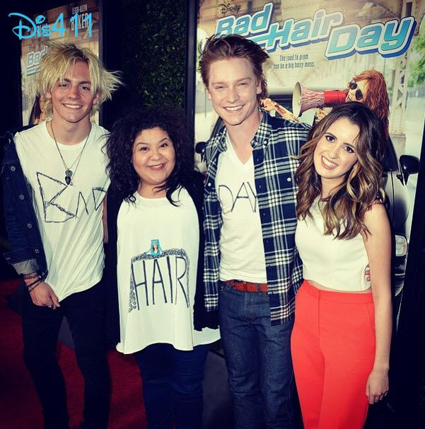 """Video: Laura Marano Talked With Mingle Media TV At The """"Bad Hair Day"""" Premiere February 10, 2015 - Dis411"""