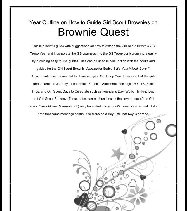 Brownie Quest and Adult Guide Journey Book Set