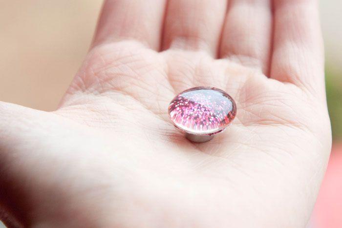 DIY: Glitter magneten