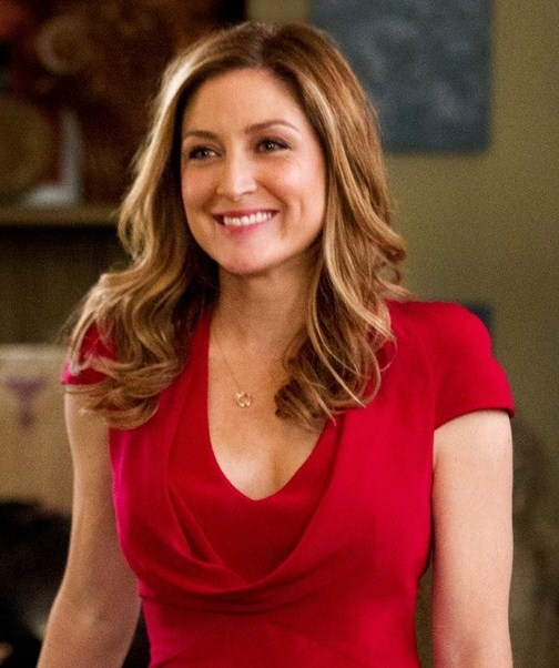 Sasha Alexander:  First female lead on NCIS and now on Rizzoli & Isles.