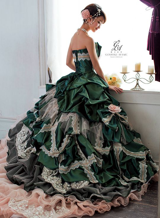 dress ballgown - reminds me of Gone With the Wind