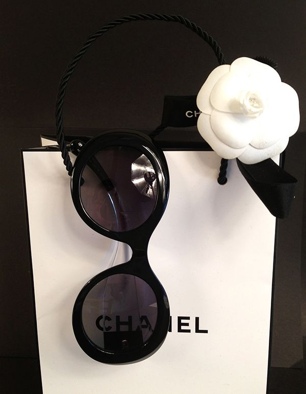 42 chanel transparent eyeglasses eyewear sunglasses black iamitalian giulia de martin 2014 fall winter