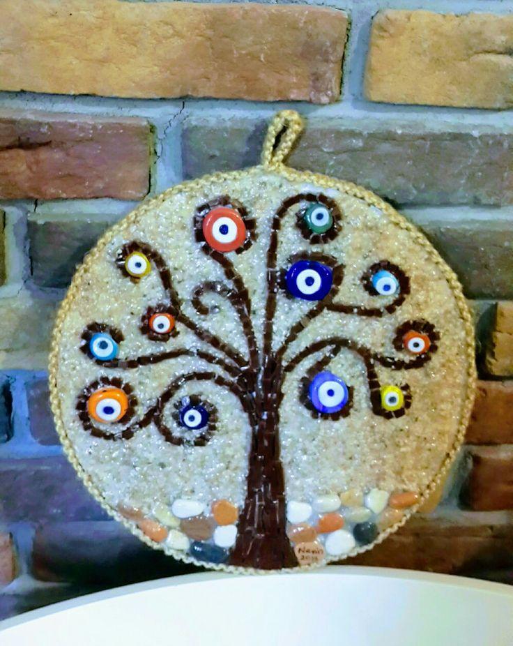 Mozaik nazar ağacım